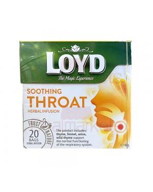 Loyd τσάι πυραμίδα με βότανα για τον πονόλαιμο (20x2gr)