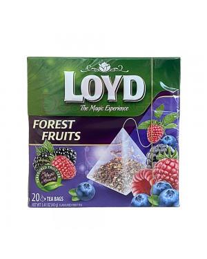 Loyd τσάι πυραμίδα με φρούτα του δάσους (20x2gr)
