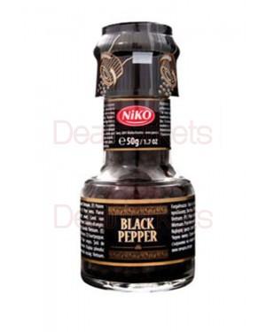 Πιπέρι μαύρο NiKO σε μύλο 50g