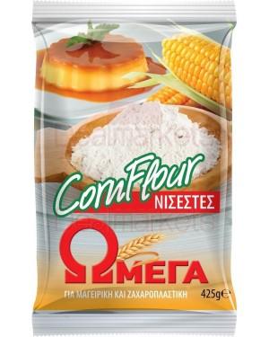 Ωμέγα corn flour νισεστές 425gr