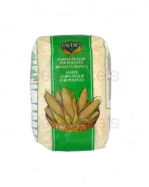 Αλεύρι λευκό ψιλό καλαμποκιού Favero 1kg