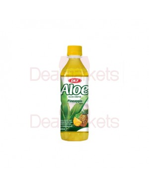 Χυμός OKF Aloe Vera Ανανάς sugar free 500ml