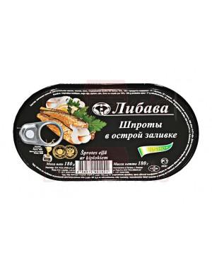 Σπρότι με καυτερή σάλτσα τομάτας Chesnok Libava 180gr