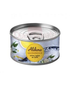 Τόνος Aldoro τρίμμα σε λάδι 160gr