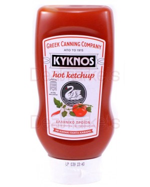 Kyknos κέτσαπ top down hot 580gr
