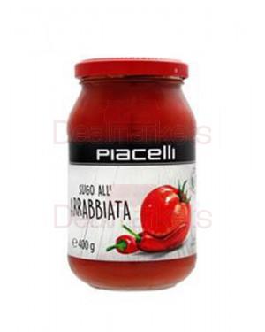 Piacelli σάλτσα αραμπιάτα σε βάζο 400gr