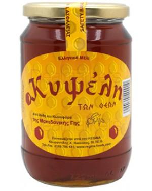 Κυψέλη μέλι ελληνικό άνθη και κωνοφόρα 920gr