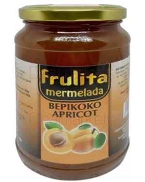 Frulita μαρμελάδα βερίκοκο 55% βάζο 450gr
