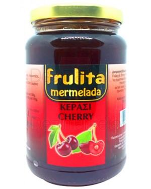 Frulita μαρμελάδα κεράσι 55% βάζο 450gr