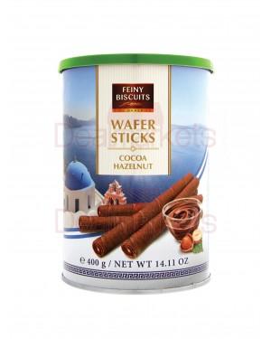 Πουράκια Feiny biscuits με σοκολάτα φουντουκιού