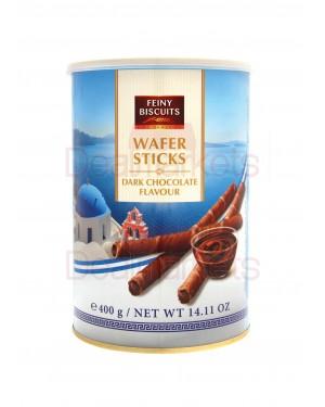 Πουράκια Feiny Biscuits μαύρη σοκολάτα 400gr