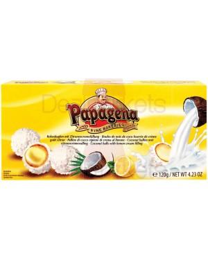 Τρούφες Καρύδας Papagena κρέμα λεμονιού 120gr