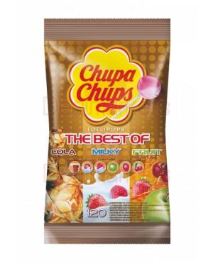 Chupa chups γλειφιτζούρια mix σακούλα 120τεμ