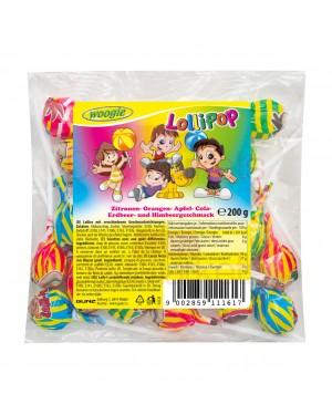 Woogie lollipops mix 200gr