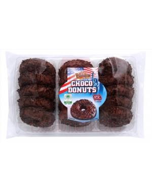 Papagena choco donuts με επικάλυψη σοκολάτας & τρούφα σοκ. 300gr