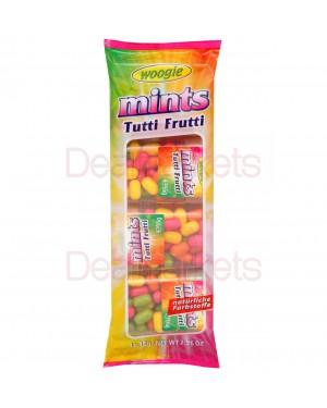 Ζαχαρωτά καραμελάκια Tutti Frutti mini με γεύση φρούτων 64gr