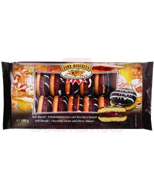 Μπισκότο σάντουιτς με κρέμα κεράσι 380gr