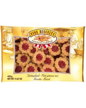 Μπισκότα σοκολάτας γεμιστά Fine Biscuits μαρμελάδα κεράσι 450gr