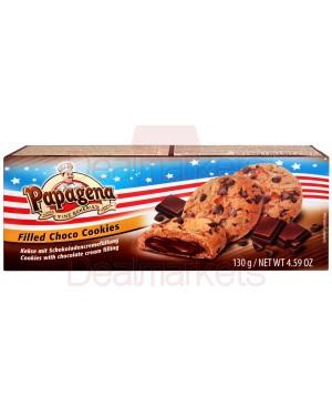 Μπισκότα Papagena cookies με κρέμα σοκολάτα 130gr