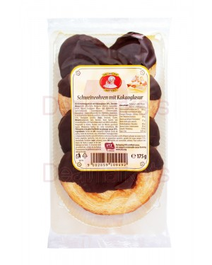 Patisserie matheo μπισκότα με γλάσο σοκολάτας 175gr