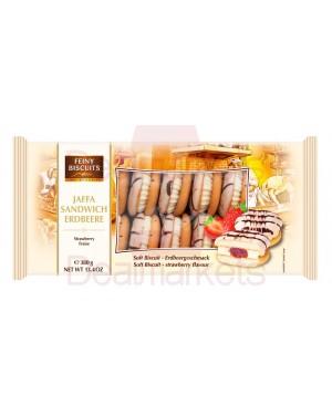 Feiny biscuits  jaffa με κρέμα φράουλα 380gr