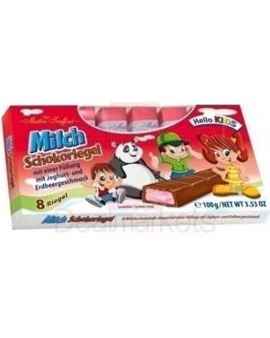 Maitre truffout σοκ. γάλακτος φράουλα-γιαούρτι kids 100gr