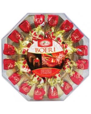 Σοκολατάκια Bitter Rovelli κερασί & λικέρ οκτάγωνη 150gr