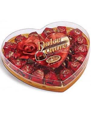 Σοκολατάκια Bitter Rovelli κοκκινη καρδιά κερασί & λικέρ 145gr