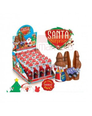 Anl santa time αυγό 60gr με δώρο έκπληξη display 24tem