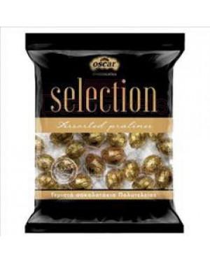 Oscar selection γεμιστά σοκολατάκια πολυτελείας χρυσό 200gr