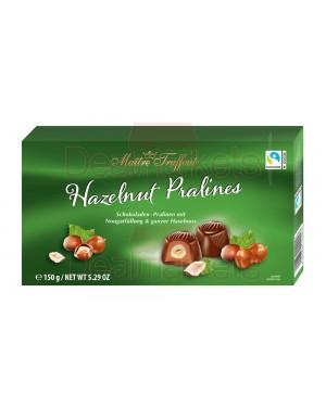 Maitre truffout σοκολατάκια πραλίνας με ολόκληρο φουντούκι 150gr