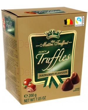 Maitre trouffot τρούφες βελγικής σοκολάτας με σκόνη κακάο και πραλίνα φουντουκιού 200gr