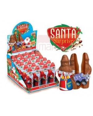 Anl santa claus choco 60g με ένα παιχνίδι display 24τεμ