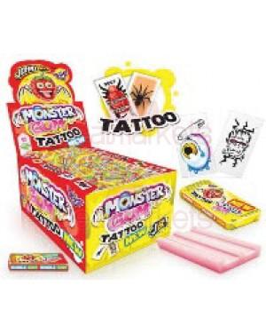 Johny bee τσίχλα tattoo display 200τεμ