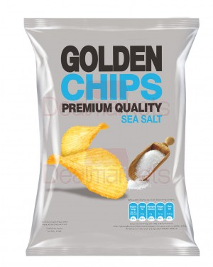 Golden chips sea salt 250gr