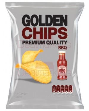 Golden chips πατατάκια με barbeque 250gr