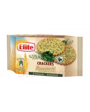 Elite crackers με σπανάκι & άνηθο 105gr