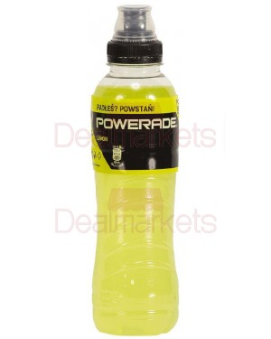 Powerade lemon 500ml φιάλη
