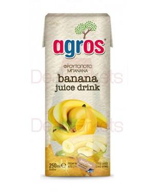 Φρουτοποτό Agros μπανάνα 250ml