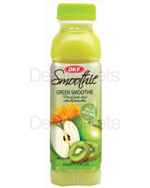 Okf  smoothie apple/kiwi/mango 350 ml (πράσινο)