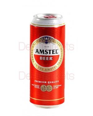 Amstel beer 500ml κουτί