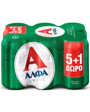 Άλφα beer (5+1δ) 330ml