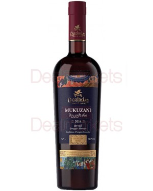 Ερυθρός Ξηρός Dugladze Mukuzani 750ml