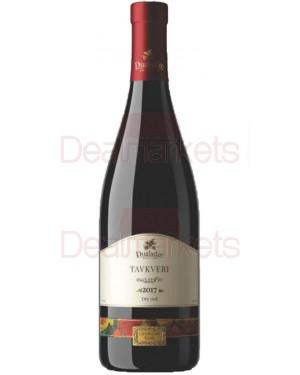 Dugladze οίνος ερυθρός ξηρός ''tavkveri'' 750ml