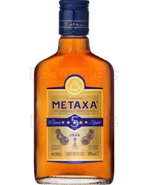 Metaxas 5* Brandy 200ml
