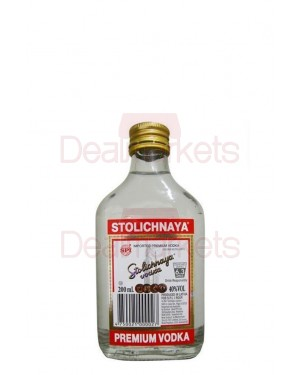 Stolichnaya Russian vodka 200ml