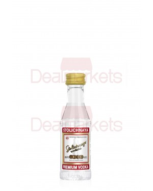 Stolichnaya Russian vodka 50ml