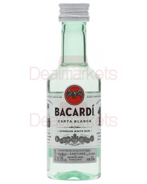 Bacardi rum μινιατούρα 50ml