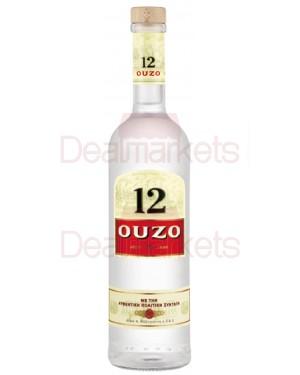 """Ούζο """"12"""" 700ml"""