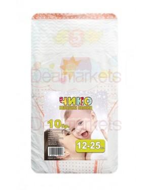 Chiko παιδικές πάνες 10 τεμ 12-25kg